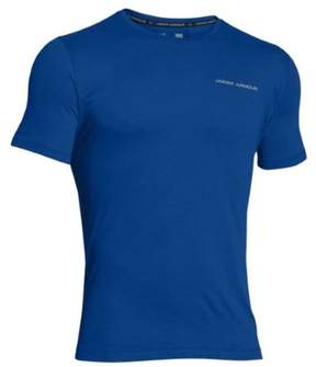 Under Armour UA Men's Charged Cotton Short Sleeve Shirt 1277085 (Royal, M)