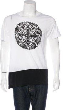 Dries Van Noten Printed Scoop Neck T-Shirt