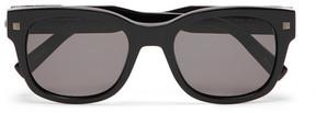 Ermenegildo Zegna Square-Frame Acetate Sunglasses