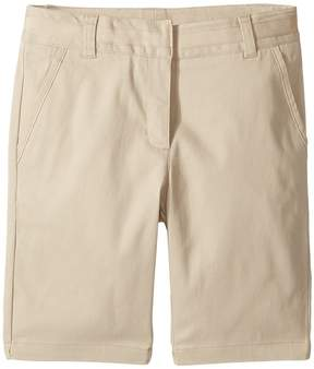 Nautica Twill Skinny Bermuda Shorts Girl's Shorts