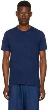 Blue Blue Japan Indigo Mount Fuji T-Shirt