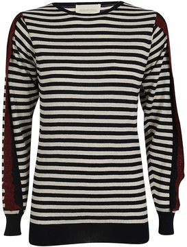 Chiara Bertani Striped Pullover