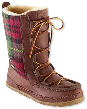 L.L. Bean Women's Wicked Good Lodge Boots, Wool