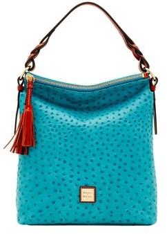 Dooney & Bourke Ostrich Small Sloan Bag. - JEAN - STYLE