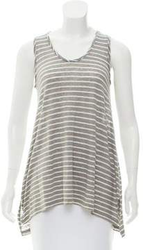Calypso Stripe Linen Top w/ Tags