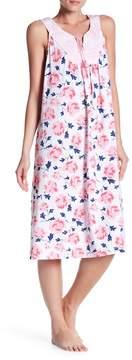Carole Hochman Sleeveless Printed Night Gown