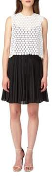 Erin Fetherston Caprice Pleated Chiffon Dress