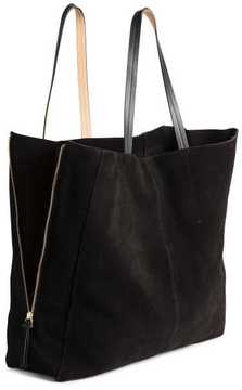 H&M Suede Shopper