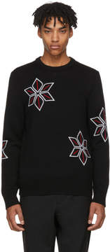 Rag & Bone Black Snowflake Sweater