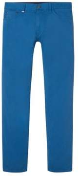 BOSS Hugo Cotton Pant, Regular Fit Maine 34/30 Blue