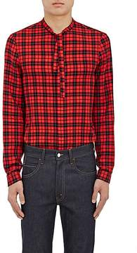 Gucci Men's Cambridge Checked Cotton-Blend Shirt