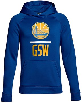 Under Armour Boys 8-20 Golden State Warriors Lockup Hoodie