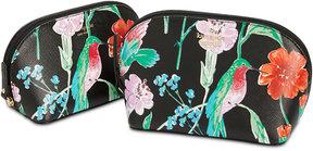 Kate Spade Cameron Street Jardin Abalene Cosmetics Case Set