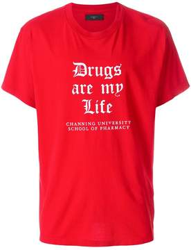 Amiri Drugs Are My Life T-shirt