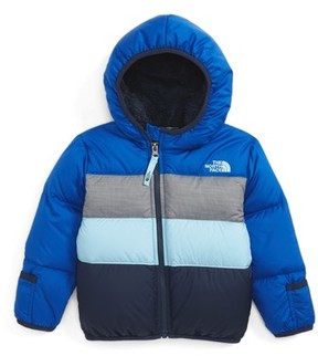 The North Face Infant Boy's 'Moondoggy' Reversible Down Jacket