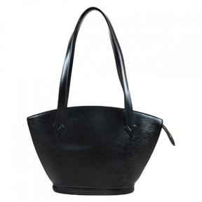 Louis Vuitton St Jacques leather tote - BLACK - STYLE