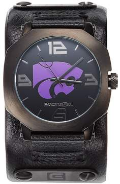 Rockwell Kohl's Kansas State Wildcats Assassin Leather Watch - Men