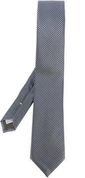 Canali square print tie