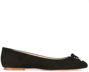Anna Baiguera bow toe ballerinas