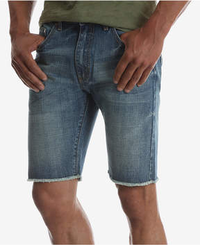 Wrangler Men's Frayed Hem Slim Fit Denim Shorts