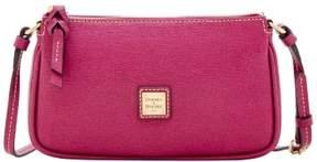 Dooney & Bourke Saffiano Lexi Crossbody Shoulder Bag - VIOLET - STYLE
