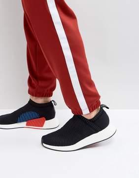 adidas NMD CS Primeknit Sneakers In Black CQ2372