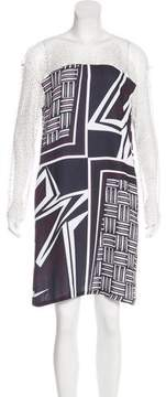 Clover Canyon Abstract Print Shift Dress