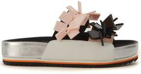 Kat Maconie Drew Multicolor Leather Slippers