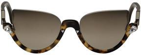 Fendi Tortoiseshell Blink Sunglasses