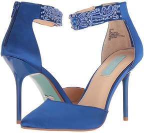 Betsey Johnson Blue by Kali High Heels