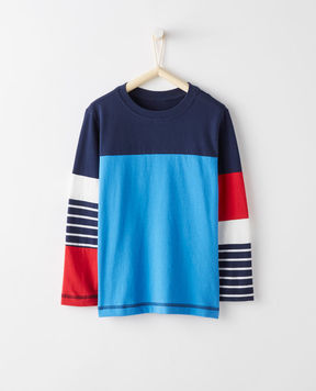 Hanna Andersson Hypersleeve Tee In Supersoft Jersey