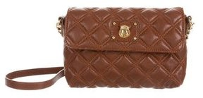 Marc Jacobs Quilted Leather Crossbody Bag - BROWN - STYLE