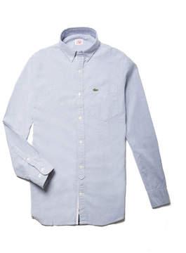Lacoste Men's Live Slim Fit Oxford Cotton Shirt