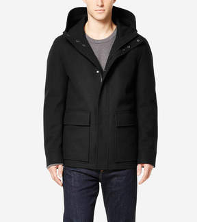 Cole Haan Water-Resistant Wool Jacket with Primaloft