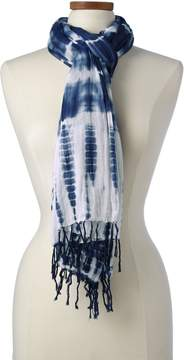 Lands' End Lands'end Women's Tie Dye Scarf