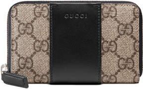 Gucci GG Supreme zip card case