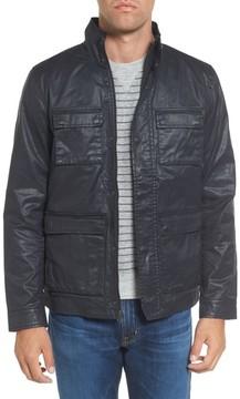 Grayers Men's Edgeware Modern Fit Coated Moto Jacket