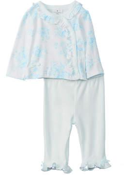 Laura Ashley Girls' 2Pc Cardigan And Pant Set