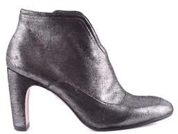 Chie Mihara Women's Silver Leather Ankle Boots.