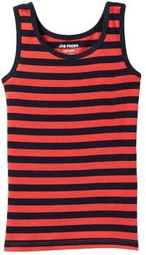 Joe Fresh Ribbed Striped Tank (Little Girls & Big Girls)