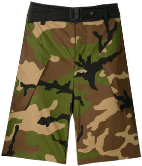 The North Face Black Label camouflage fitted shorts
