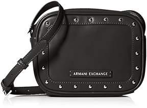 Armani Exchange A X Studded Small Crossbody Bag