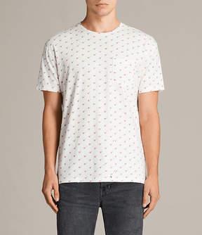 AllSaints Cherry Short Sleeve Crew T-Shirt