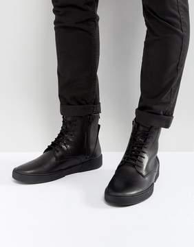 Zign Shoes Leather Sneaker Boots