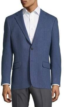 Hickey Freeman Herringbone Jacket