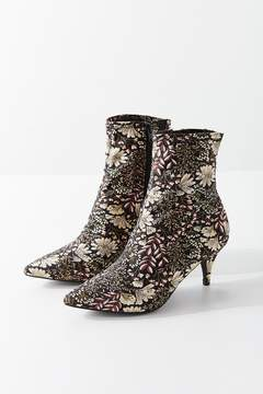 Urban Outfitters Hazel Floral Jacquard Ankle Boot