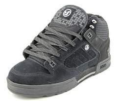 DVS Shoe Company Militia Boot Men Round Toe Leather Black Skate Shoe.