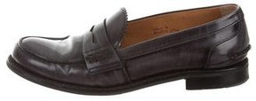 Church's Leather Round-Toe Loafers