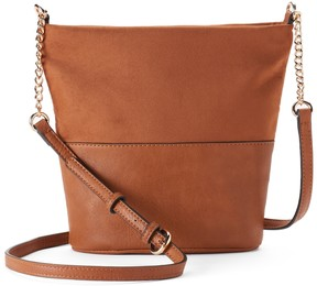 Lauren Conrad Daisy Soft Bucket Crossbody Bag