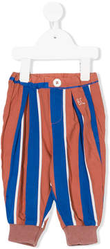 Bobo Choses striped loose-fit trousers